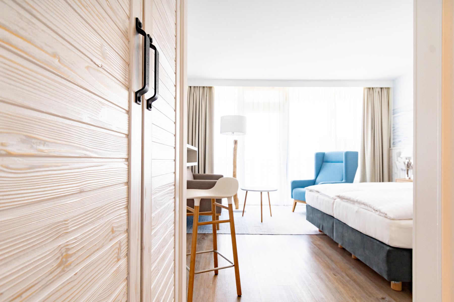 Wyn Strandhotel Sylt Zimmer Meerzeit Blick Ins Zimmer