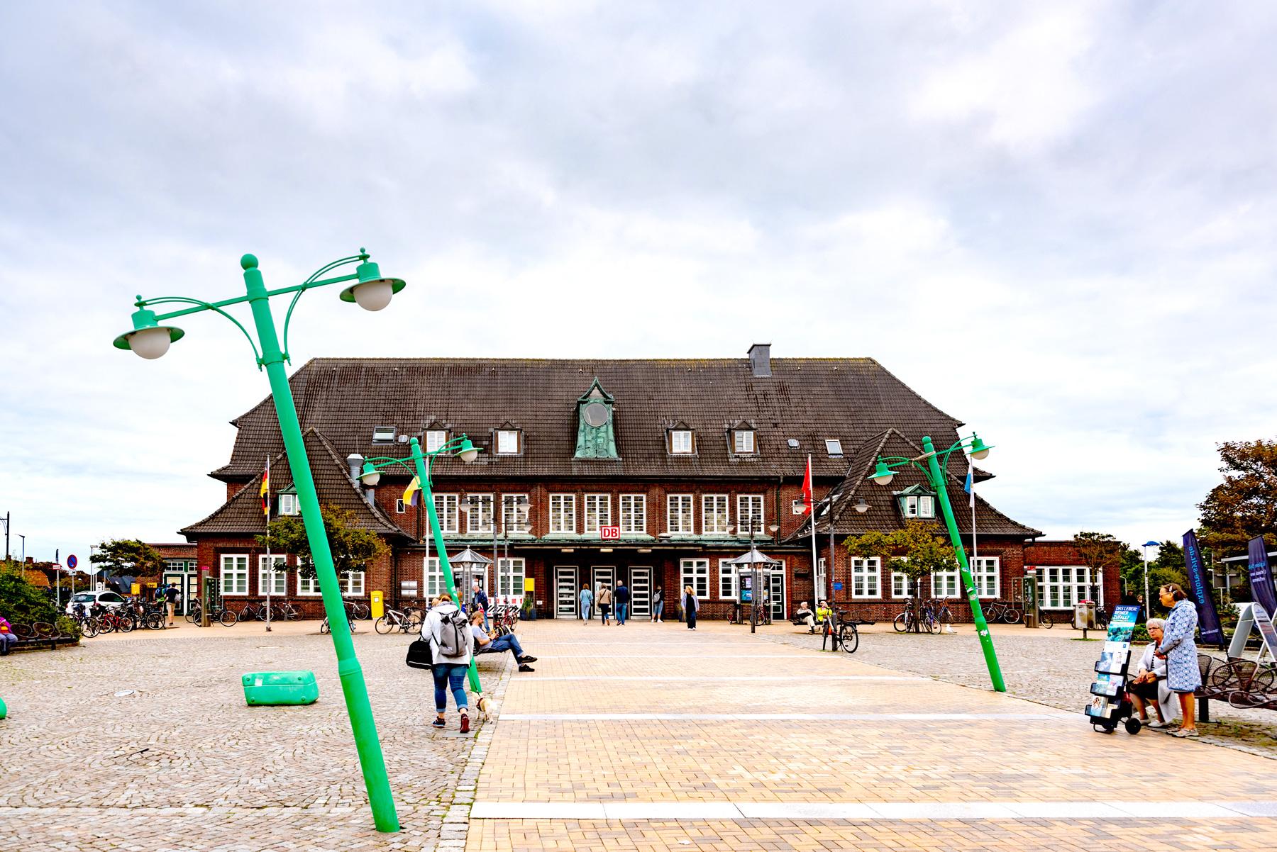 Bahnhof in Westerland auf Sylt