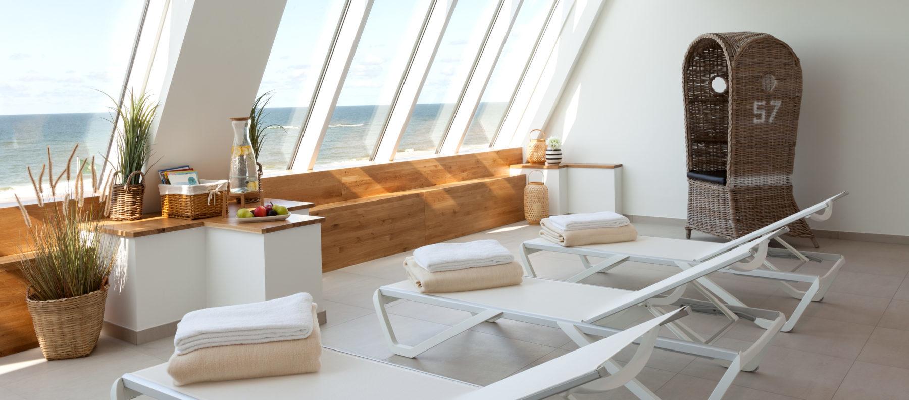 Spa Lounge Wyn Strandhotel Sylt Wellness
