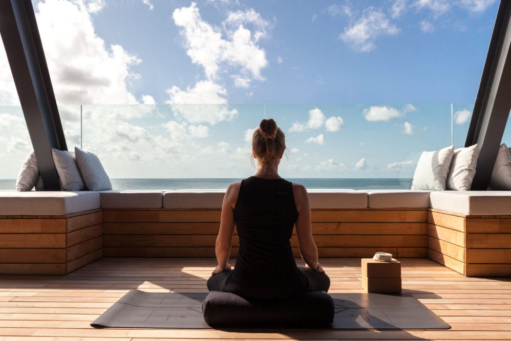 Spa Lounge Wyn Strandhotel Sylt Yoga Meditation