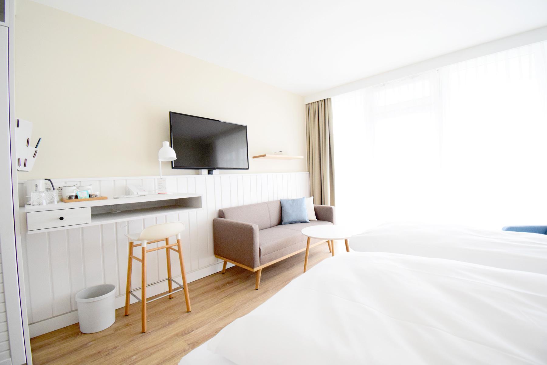Wintervergnügen im Wyn. Strandhotel Sylt Angebot im Winter Hotelzimmer