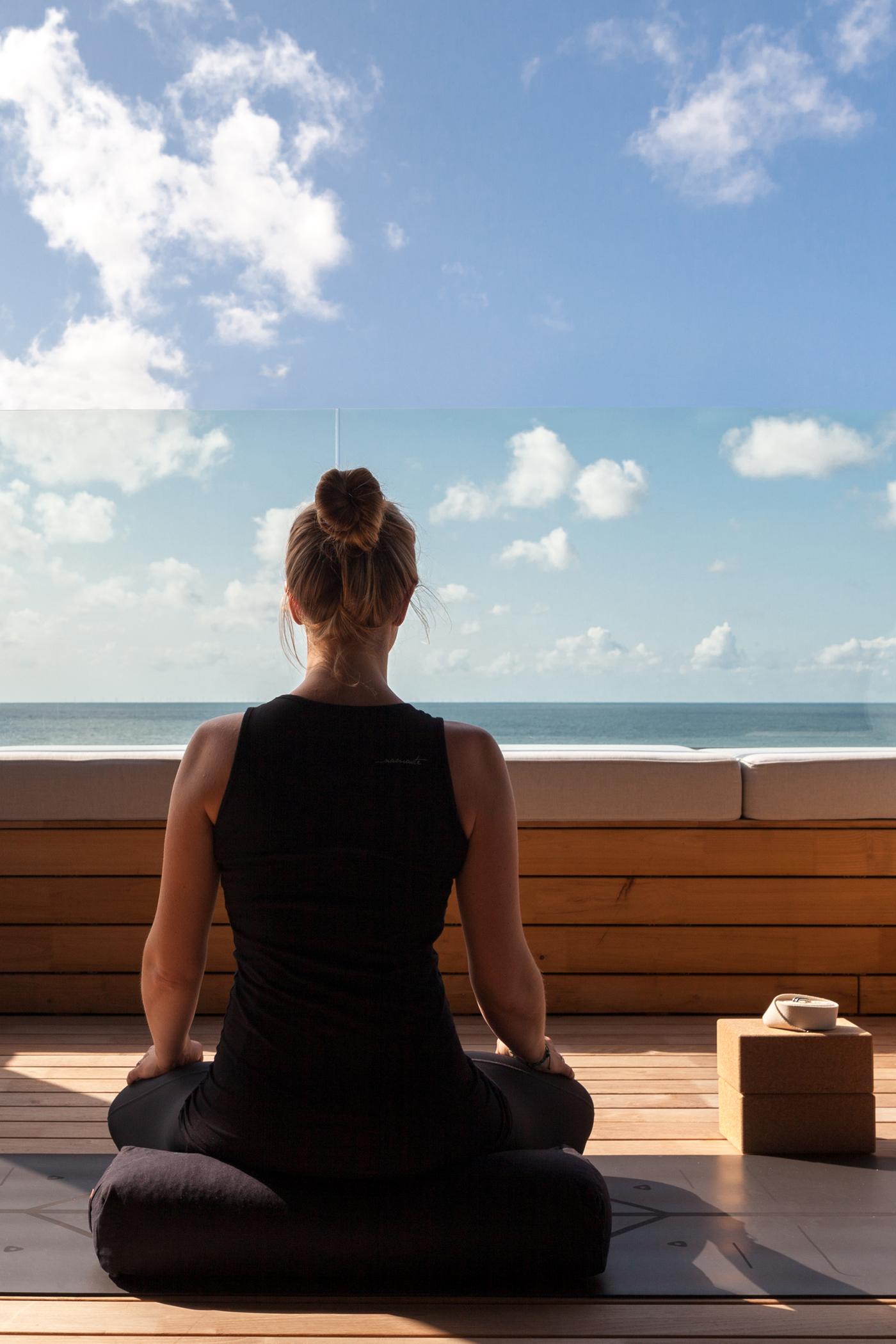 Imke Meditation Spa Lounge Wyn Strandhotel Sylt