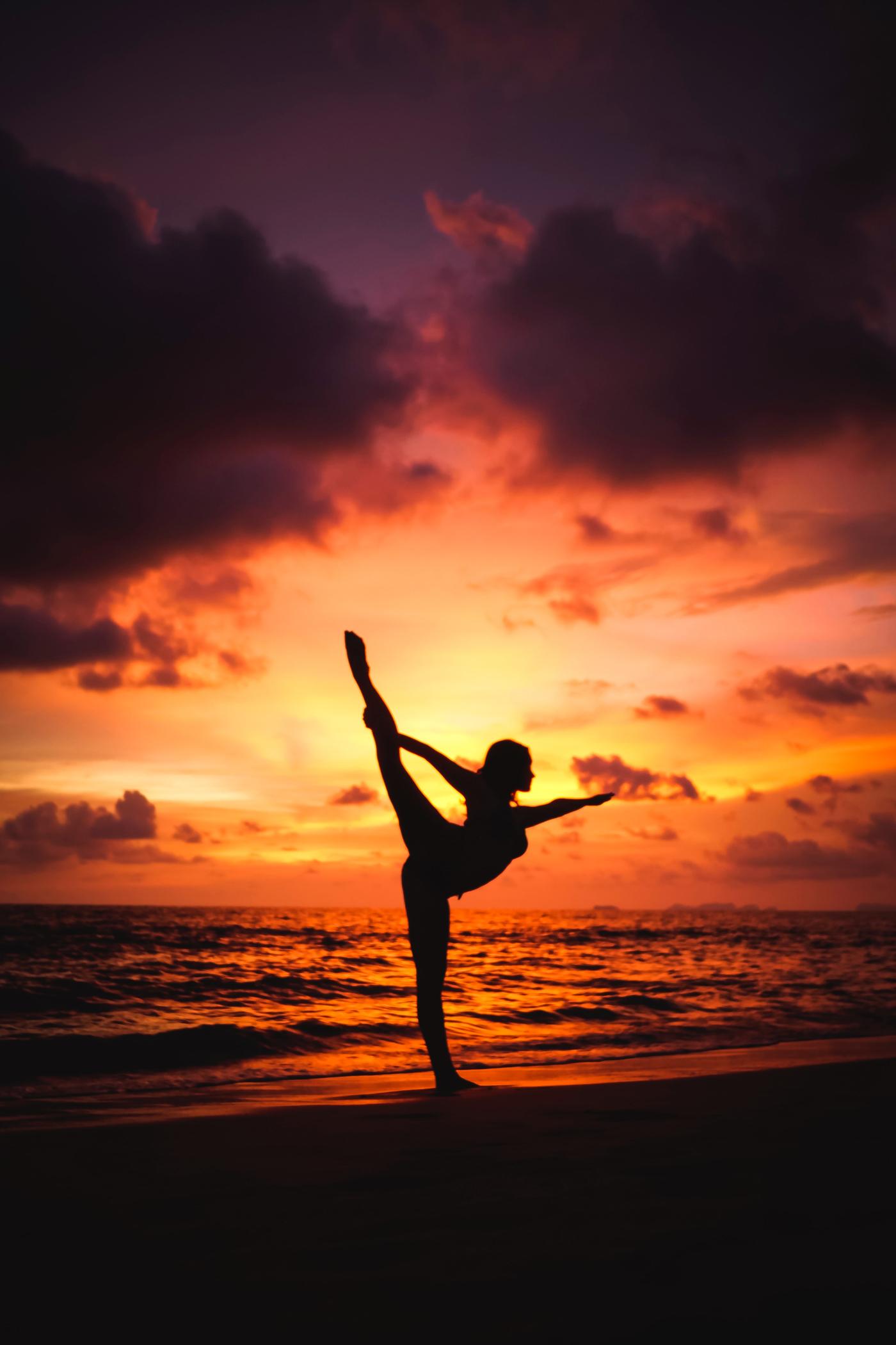 Sanfte Yoga Sessions Im Wyn Strandhotel Yogazeit