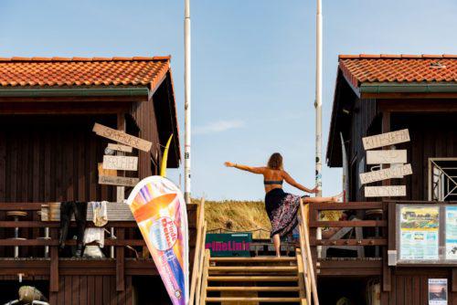 Sport und Yoga beim Sylt Urlaub im Strandhotel Wyn.