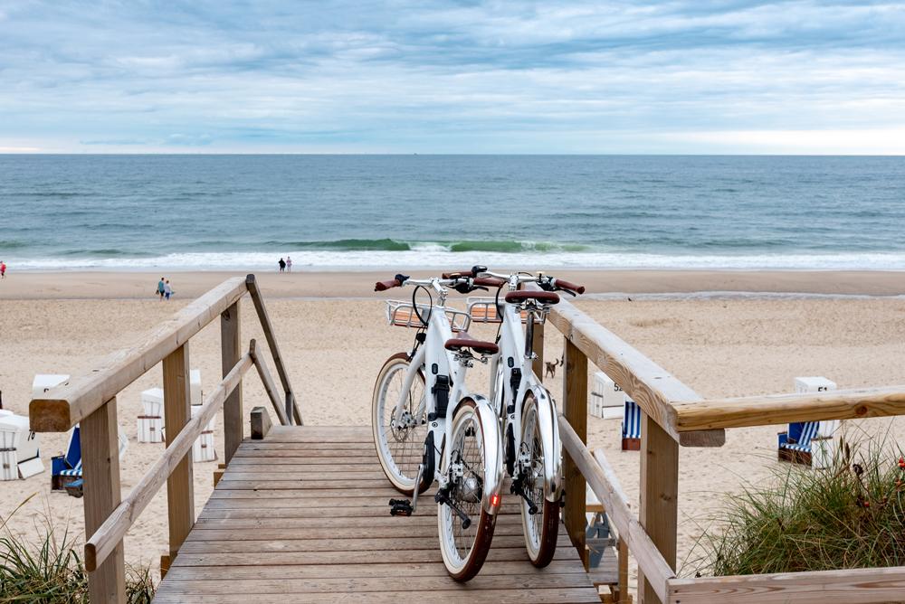Mit dem Fahrrad im Herbsturlaub auf Sylt