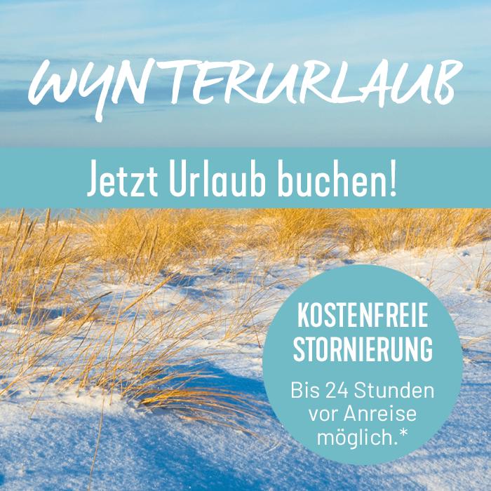 Winterurlaub auf Sylt mit kostenfreier Stornierung buchen