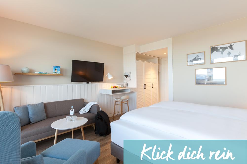 Hotelzimmer Angebot im Wyn. Strandhotel Sylt