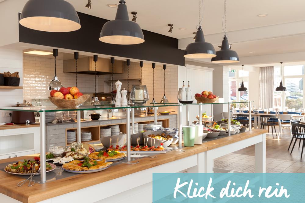 Restaurant Angebot im Wyn. Strandhotel Sylt