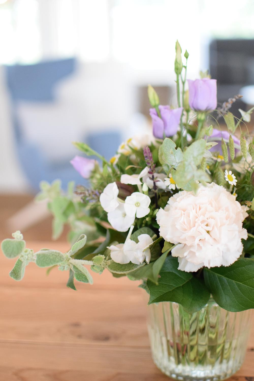 Schöne Blumen zu Ostern im Wyn. Strandhotel Sylt