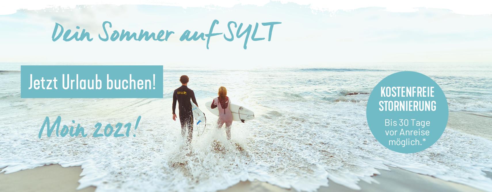 Sommerurlaub auf Sylt buchen. Am besten im Wyn. Strandhotel Sylt in Westerland am Strand.