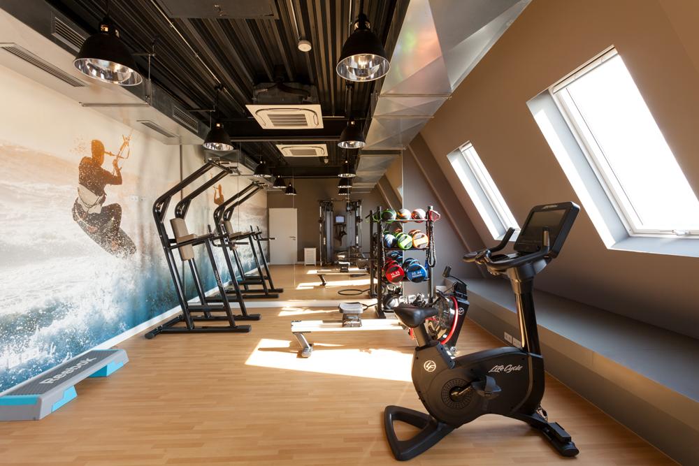 Fitness Bereich im Wyn. Strandhotel Sylt