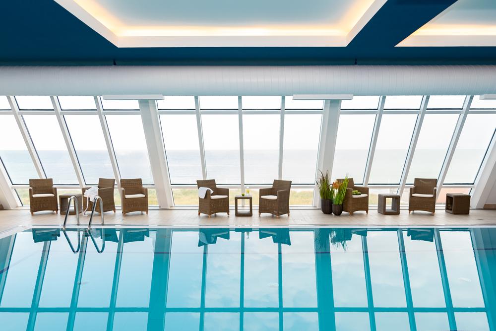Entspanne dich bei uns in der SPA.LOUNGE mit Wellness und Meer.